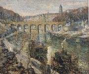 Ernest Lawson The Bridge oil painting picture wholesale