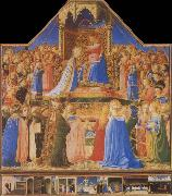 Fra Angelico The Coronation of the Virgin oil painting picture wholesale