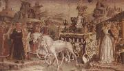 Francesco del Cossa The Triumph of Minerva March,From the Room of the Months oil painting picture wholesale