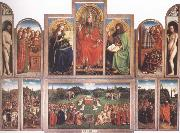 Jan Van Eyck Adoration of the Lamb oil painting picture wholesale