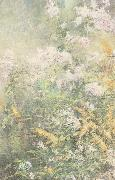John Henry Twachtman Meadow Flowers oil painting artist