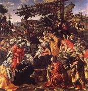 Filippino Lippi The adoration of the Konige oil painting picture wholesale