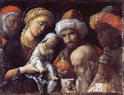 Andrea Mantegna The adoration of the Konige oil