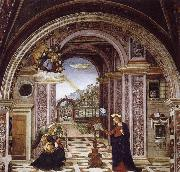 Bernardino Pinturicchio Bernardino Pinturicchio the Verkundigung oil painting picture wholesale