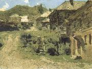 Levitan, Isaak Angle in Pljob oil painting picture wholesale