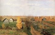 Levitan, Isaak Golden autumn in the Village oil painting picture wholesale