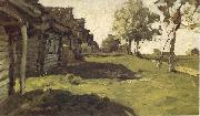 Levitan, Isaak Sunny day in the village oil painting picture wholesale