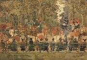 Maurice Prendergast Central Park oil painting picture wholesale