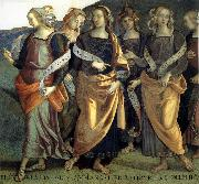 PERUGINO, Pietro Fresco in the Palazzo the prioris in Perugia, Italy oil painting picture wholesale