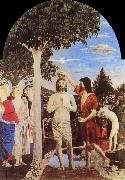 Piero della Francesca Gallery, London baptizes Christs oil painting reproduction
