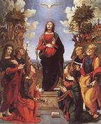 Piero di Cosimo Immaculate Conception and Six Saints oil painting picture wholesale