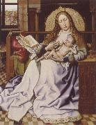 Robert Campin Virgin and Child Befroe a Firescreen oil painting picture wholesale