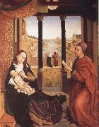 Rogier van der Weyden St Luke Drawing the Virgin oil painting picture wholesale