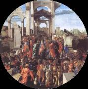 Sandro Botticelli Adoration of the Kings oil painting picture wholesale