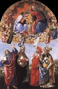 Sandro Botticelli The Coronation of the Virgin oil painting picture wholesale