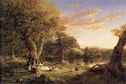 Thomas Cole A Pic-Nic Party oil painting picture wholesale