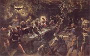 Tintoretto The communion oil painting picture wholesale