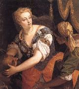 VERONESE (Paolo Caliari) Fudith with the head of Holofernes oil painting picture wholesale