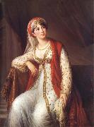 VIGEE-LEBRUN, Elisabeth Madame Grassini in the Role of Zaire oil painting reproduction