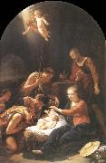 Adriaen van der werff The adoracion of the shepherds oil painting