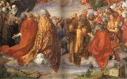 Albrecht Durer The Adoration of the Holy Trinity oil painting picture wholesale