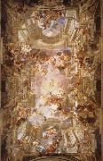 Andrea Pozzo The apotheosis of St. lgnatius oil