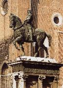 Andrea del Verrocchio Equestrian Statue of Bartolomeo Colleoni oil painting picture wholesale