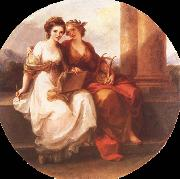 Angelica Kauffmann Allegory of Poetry and Painting oil painting picture wholesale