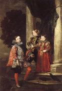 Anthony Van Dyck The Balbi Children oil painting reproduction