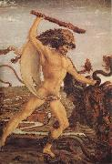 Antonio del Pollaiuolo Hercules and the Hydra oil painting artist