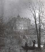 Atkinson Grimshaw Under the Moonbeams oil painting picture wholesale