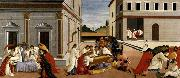 BOTTICELLI, Sandro Three Miracles of St Zenobius oil painting picture wholesale