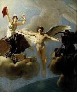Baron Jean-Baptiste Regnault The Genius of France between Liberty and Death oil painting picture wholesale
