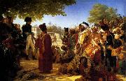 Baron Pierre Narcisse Guerin Napoleon Pardoning the Rebels at Cairo oil painting picture wholesale
