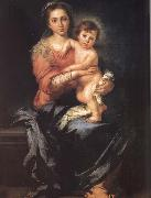 Bartolome Esteban Murillo Madonna and Child oil painting picture wholesale
