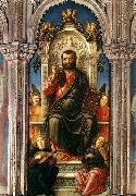 Bartolomeo Vivarini Triptych of St Mark oil painting picture wholesale