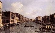 Canaletto Looking South-East from the Campo Santa Sophia to the Rialto Bridge oil painting picture wholesale