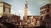 Canaletto View of Campo Santi Apostoli oil painting picture wholesale