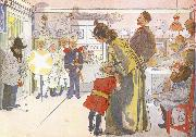 Carl Larsson Star Boys Call at Larssons oil painting picture wholesale