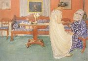 Carl Larsson The Bridesmaid oil painting picture wholesale