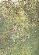 Carl Larsson in the Hawthorn Hedge oil painting picture wholesale