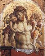 Carlo Crivelli The Dead Christ Supported by two angels oil painting picture wholesale