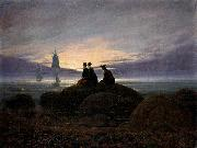 Caspar David Friedrich Moonrise by the Sea oil painting picture wholesale