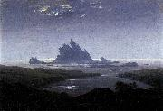 Caspar David Friedrich Rocky Reef on the Sea Shore oil painting picture wholesale