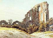 Caspar David Friedrich The Ruins of Eldena oil painting picture wholesale