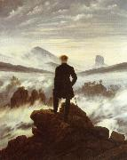 Caspar David Friedrich The walker above the mists oil painting picture wholesale
