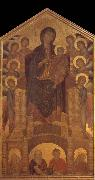 Cimabue Throning Madonna with angels and prophets oil painting picture wholesale
