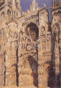 Claude Monet Rouen Cathedral,portrait of Sint-Romain-s Tower oil painting picture wholesale