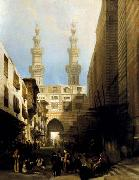 David Roberts A View in Cairo oil painting picture wholesale