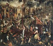 Domenico Tintoretto The Conquest of Constantinople oil painting picture wholesale